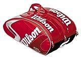 ウイルソン テニスバッグ [K] PRO TOUR SUPER 6PK RED Z6129