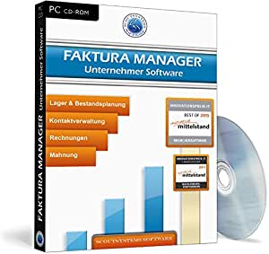 faktura manager unternehmer software software. Black Bedroom Furniture Sets. Home Design Ideas