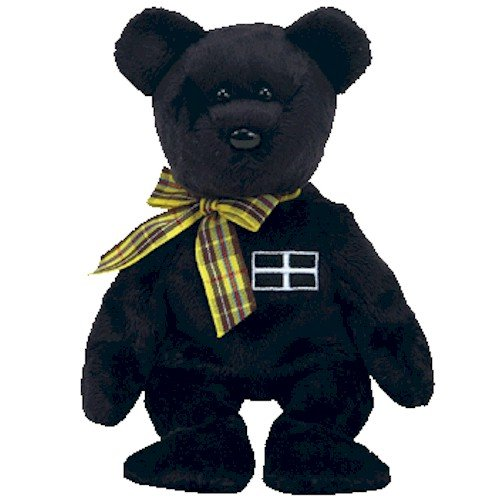1 X TY Beanie Baby - KERNOW the Bear (UK Exclusive)