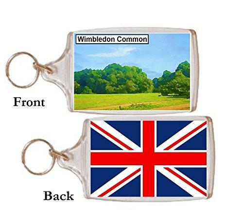 Schlüsselring Wimbledon Common Geschenk Tourist Souvenir