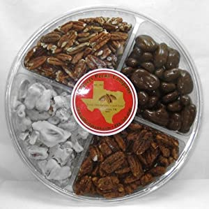 Sweet And Spicy Texas Pecans Nut Gift Sampler 4 Flavors
