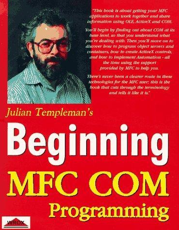 Beginning Mfc Com Programming by Julian Templeman (1997-08-02) (Beginning Mfc Programming compare prices)