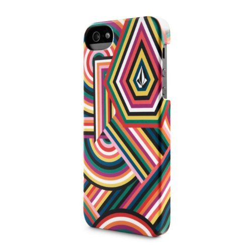 Incase Volcom Snap Case for iPhone 5S/5 (Angles Multicolor - CL69113) by Incase Designs [並行輸入品]