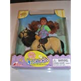 My Friends Pony Set By Excite Cute Red Hair Girl Doll Riding a Pony by Toy Concepts