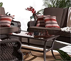 Amazon.com: Strathwood Buckley 4-Piece Outdoor Furniture Set ...