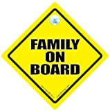 Family On Board Car Sign Family On Board Baby on Board Sign Baby On Board Decal Bumper Stcicker Baby Sign Baby Car Sign Family In Car