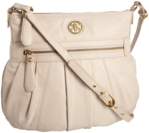 Ri2k Womens Jamie JAB4316  Crossbody Bag Cream