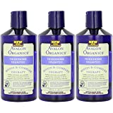 Avalon Organics Shampoo, Biotin B-Complex, Thickening, 14-Ounces (Pack of 3)