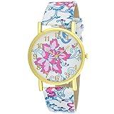 Grabito Women's Multicolour Rubber Watch