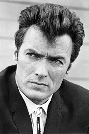 Clint Eastwood Coogan's Bluff 24X36 Poster Bolo Tie Cool at Amazon's