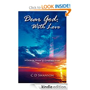 Dear God: With Love: Words Of Praise to Exalt His Name