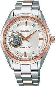 SEIKO PRESAGE (SRRY010) Basic Line WOMEN'S WATCH See-through case-back