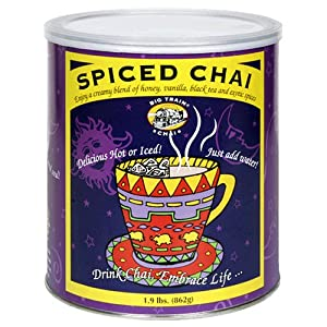 Big Train Spiced Chai 19-pound Cans Pack Of 2 by Big Train