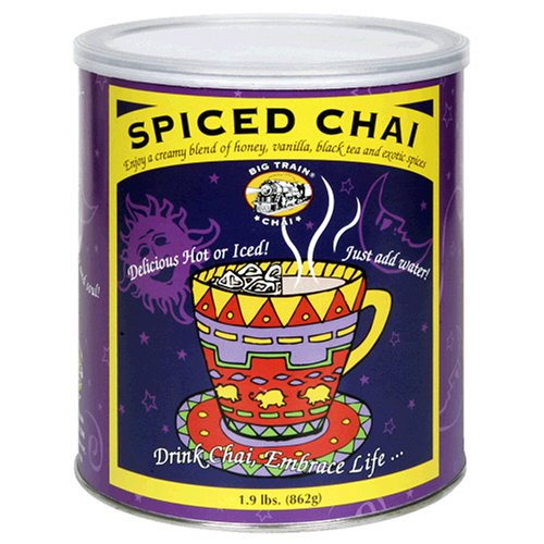 Big Train Spiced Chai Tea 1 9 Pounds 2 Pack Brand New