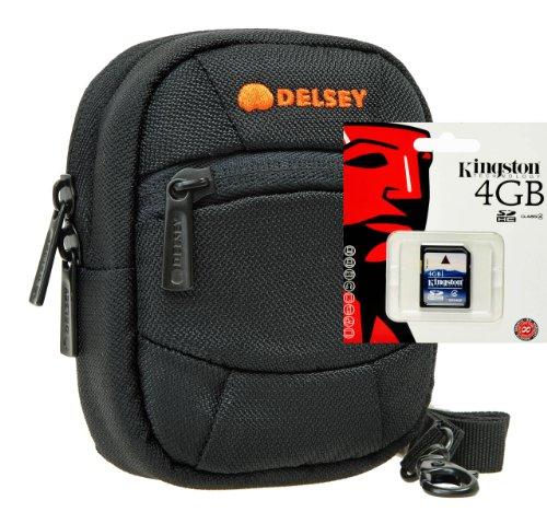 Foto kamerra Borsa Delsey ODC 1con scheda SD da 4GB per Canon IXUS 220285275265255160165170175180285170155510