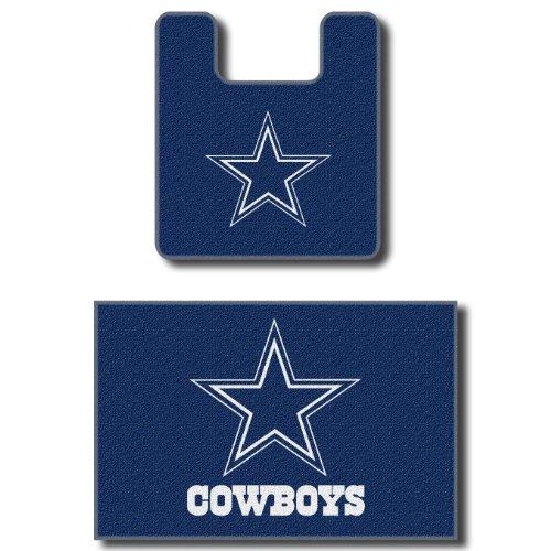 Nfl Dallas Cowboys Logo Bathroom Soft Floor Carpet Mats