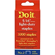 Do it Best Global Sourcing 346673 Do it No. 2 Staples-5/16