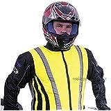 Tofern High Visibility High Vis 3M Scotchlite unisex reflective vest cycling running hiking safety vest