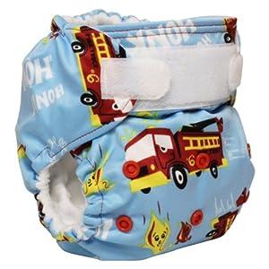 Rumparooz Reusable Cloth Pocket Diaper, Ladder 6, Aplix