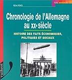 echange, troc Peres - Chronologie de l'Allemagne au XXe siècle