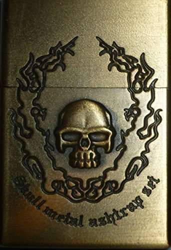 brand-new-limited-edition-petrol-lighter-skull-metal-ashtrap-with-3d-design-great-gift-box-exclusive