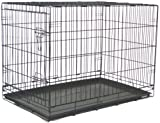 Brand New Folding Dog Cat Kennel Crate Cage 48″