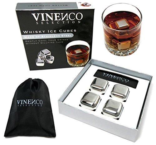 juego-de-cubos-de-hielo-para-whisky-de-vinenco-4-whisky-ice-cubes-de-acero-inoxidable-bolsa-de-tela-