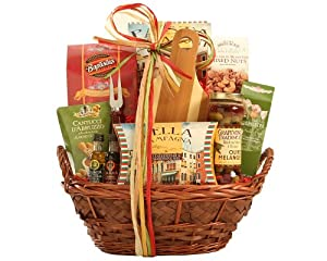 Wine Country Italian Collection Gift Basket