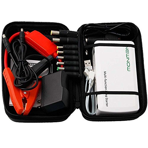 Newnow 12V 400 Amp Peak 5V/12V/19V Portable Multi-Function Car Jump Starter Power Station With Ultra-Bright Led Flash Light & Laptop Mobile Phone Power Bank front-486513