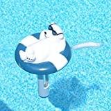 MILLIARD Floating Pool Thermometer Polar Bear, Large Size with String, for Outdoor / Indoor Swimming Pools, Hot Tub, Spa, Jacuzzi and Pond