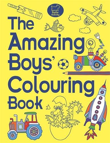 The Amazing Boys' Colouring Book