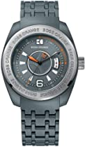 BOSS ORANGE Grey Resin Mens Watch 1512541