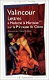 echange, troc Jean-Baptiste Henri de Valincour - Lettres à Madame la Marquise sur la Princesse de Clèves