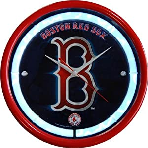 Authentic Street Signs Boston Red Sox Plasma Clock by MLB_Authentic Street Signs