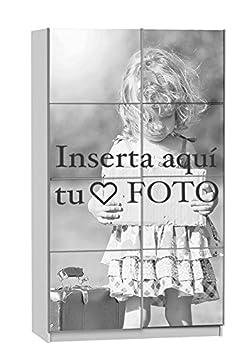 Armario ropero, PERSONALIZADO CON TU FOTO, Margarita 120 impreso completo