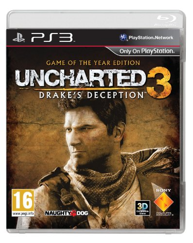 Sony Uncharted 3 Drake Deception Game Of The Year Edition