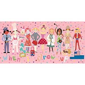when i grow up girls wall art