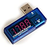 EzReal USB Multimeter Ladegerät Detektor Strom- und Spannungsmesser Tragbar Digitale Voltmeter Amperemeter Powermeter Tester