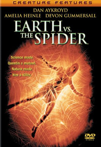 Cover art for  Earth vs. the Spider