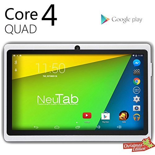 Discover Bargain NeuTab® N7 Pro 7'' Google Android 4.4 KitKat Quad Core Tablet PC, 1024X600 Display...