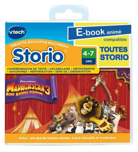 Vtech - 282205 - Storio - E-book animé - Madagascar 3