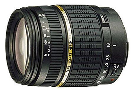 Tamron Autofocus 18-200mm f/3.5-6.3 XR Di II Macro Lens for Nikon Digital SLR Cameras