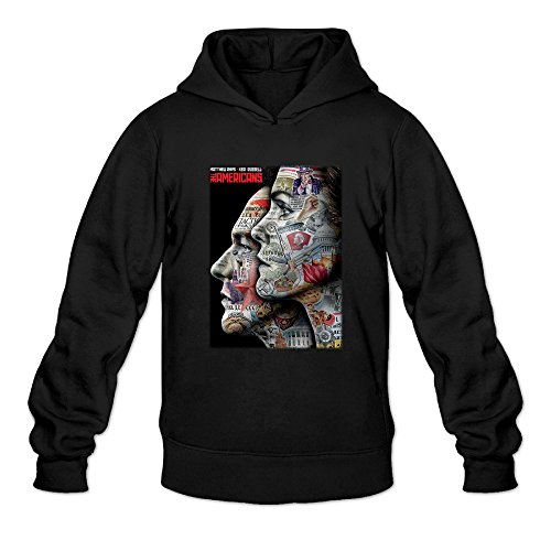 Men's The Americans Season 3 Tv Series Poster Cool Hoodies Sweatshirts (The Almighty Johnsons Season 3 compare prices)