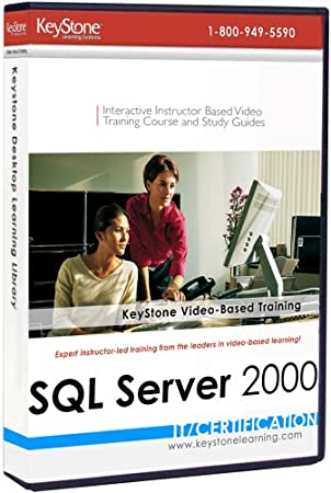 SQL Server 2000 Complete: 20-level Instructor-based Video Training Set [Old Version]