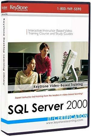 SQL Server 2000 Complete: 20-level Instructor-based Video Training Set [Old Version]