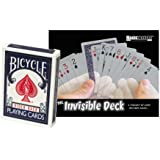 Blue Bicycle Invisible Deck
