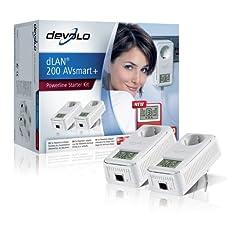 Devolo dLAN 200 AVsmart+ Starter Kit (Netzwerk aus der Steckdose) ab 88,- Euro inkl. Versand