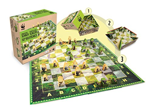 Wwf Games & Puzzles Wwf Games And Puzzles 988 Congo Basin Chess