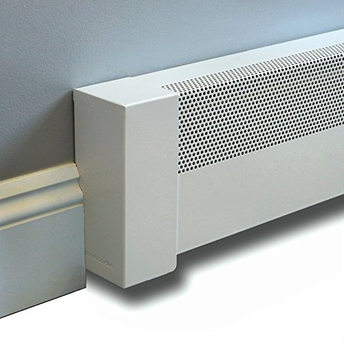 Baseboarders® Baseboard Heater Cover BASIC Straight Kit 4ft Length (Radiator Cover Baseboard compare prices)