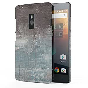 Koveru Designer Printed Protective Back Shell Case Cover for OnePlus Two - Black Clouds